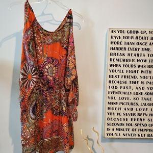 Umgee dress. Size L 60% cotton 40% polyester  EUC